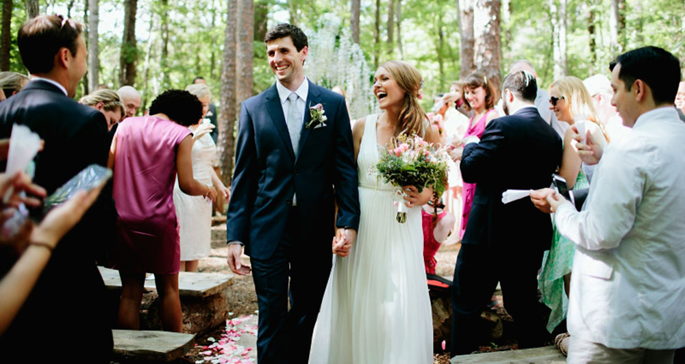 A Wedding in the Woods at Timberlake Earth Sanctuary