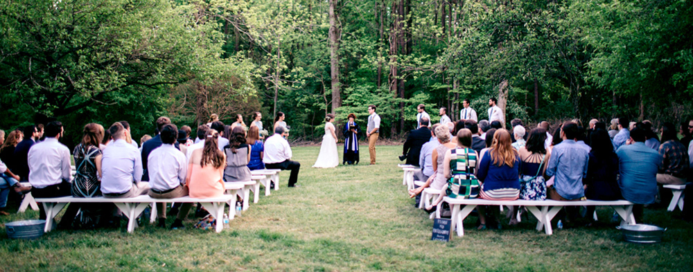 Orchard Wedding at Timberlake Earth Sanctuary