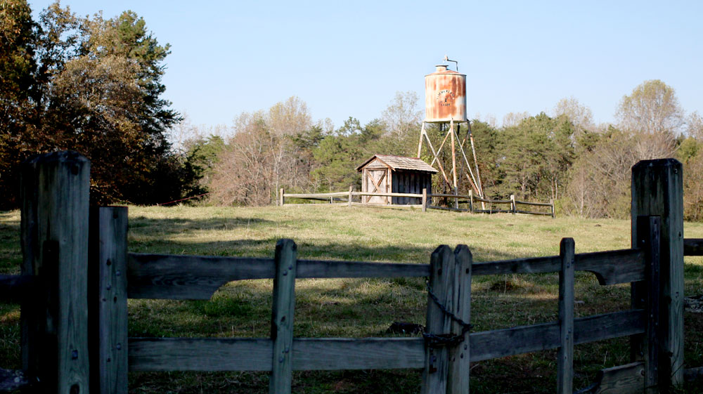 The Water Tower at Timberlake Earth Sanctuary